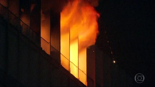 UFRJ suspende atividades em prédio atingido por incêndio até sexta-feira