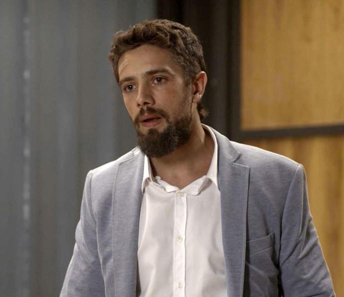 "César tenta se justificar: 'Tô sofrendo"" (Foto: TV Globo)"