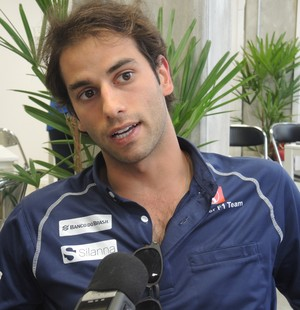 Felipe Nasr Fórmula 1 GP do Brasil pós-corrida (Foto: David Abramvezt)