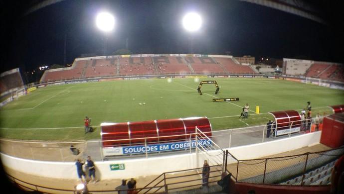 Ituano x Santos estádio Novelli Júnior (Foto: Emilio Botta)