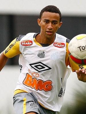 Tiago Alves treino Santos (Foto: Ivan Storti/Divulgação Santos FC)