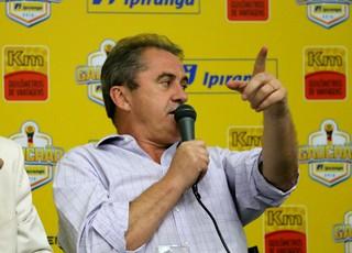 Francisco Novelletto presidente FGF Nilo Job FGF (Foto: Eduardo Deconto/GloboEsporte.com)