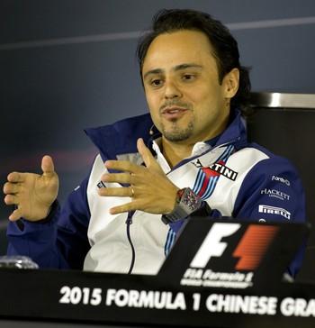 Felipe Massa, Williams, na coletiva de imprensa do GP da China, Fórmula 1 (Foto: AP)