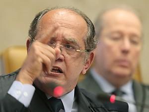 O ministro Gilmar Mendes, relator da ação no STF contra projeto que inibe novos partidos (Foto: Carlos Humberto/SCO/STF)