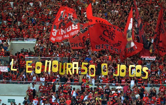 torcida Flamengo (Foto: André Durão / Globoesporte.com)
