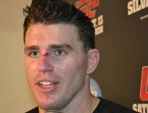 UFC 153 Chris camozzi zona mista (Foto: Adriano Caldas / Globoesporte.com)