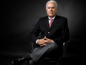 Presidente da Cooxupé, Carlos Alberto Paulino da Costa espera valorização da saca para bom ano em 2017 (Foto: Divulgação Ascom Cooxupé / Ricardo Dias)