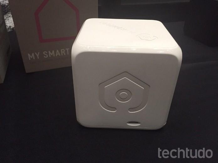 Cubo faz integração de Bluetooth de toda a casa (Foto: Laura Martins/TechTudo)