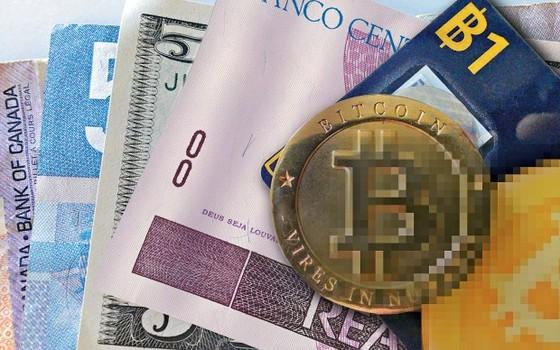 Imagem ilustrativa do Bitcoin (Foto: Getty Images)