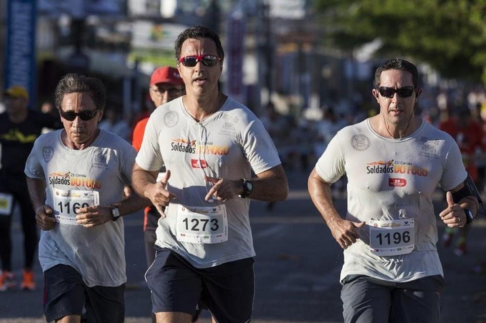 Corrida Soldados do Fogo deve reunir 5 mil pessoas no sábado, em Natal (Foto: Divulgação)