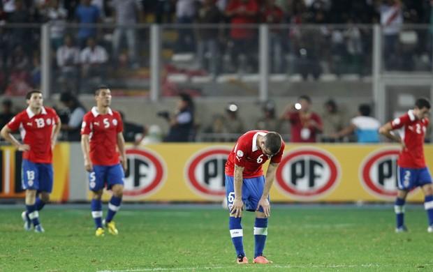 Peru x Chile, Eliminatórias - AP (Foto: AP)