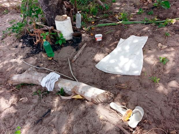 Segundo a polícia, vítima foi levada para a zona rural de Pedro Velho, onde sofreu agressões e foi ameaçada várias vezes de morte (Foto: Divulgação/Polícia Civil do RN)