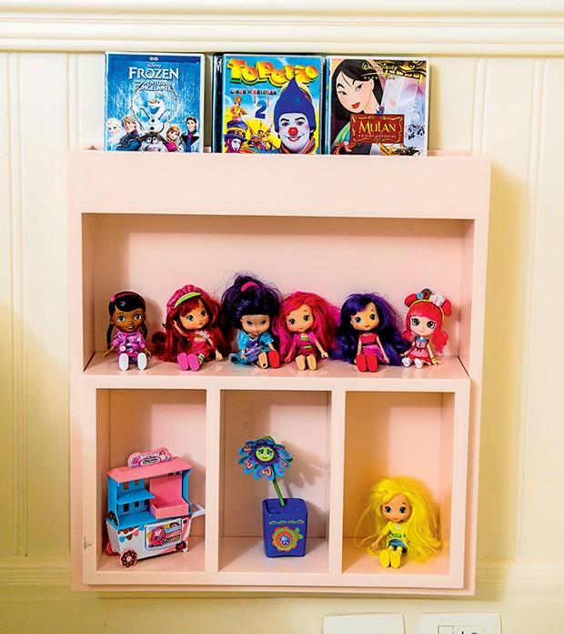 Maysa gosta de colecionar bonecas  (Foto:  )