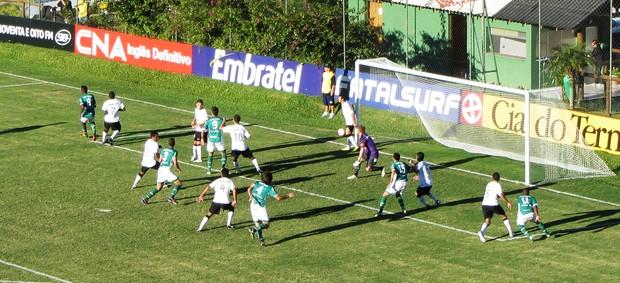 Corinthians-PR x Arapongas (Foto: Felipe Silveira/RPCTV)