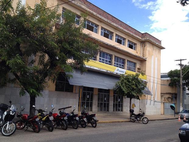 Agência Central dos Correios fica no bairro da Ribeira, na Zona Leste de Natal (Foto: Érika Zuza/InterTV Cabugi)