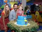 Iran Malfitano comemora aniversário da filha com festa no Rio