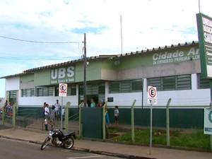 UBS do Cidade Aracy em São Carlos (Foto: Ely Venâncio/ EPTV)