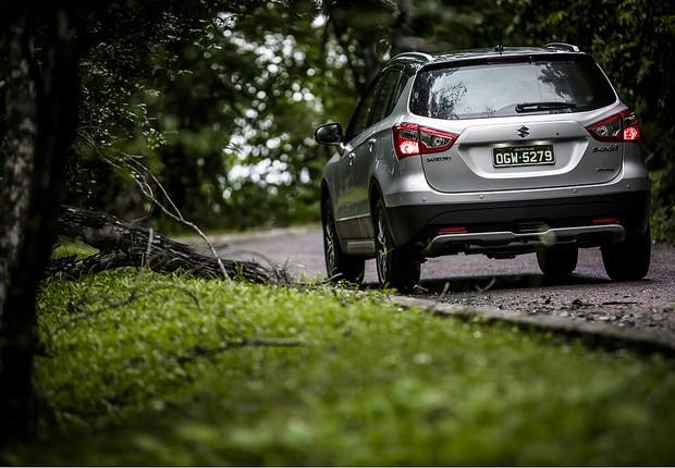 Suzuki Scross (Foto: Divulgação)