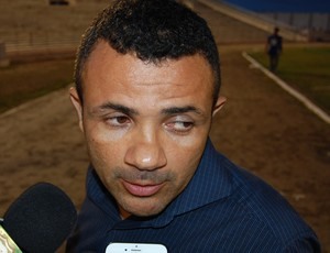 Josivaldo Alves, técnico do CSP (Foto: Silas Batista / GloboEsporte.com)