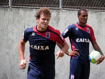 Atacante Rodrigo Tosi Paraná Clube (Foto: Fernando Freire)