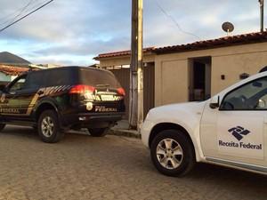 Casa de prefeito foi alvo de mandado de busca (Foto: Divulgação/ PF)