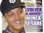 """Özil não descarta retorno ao Real: """"Veremos o que acontece no futuro"""""""