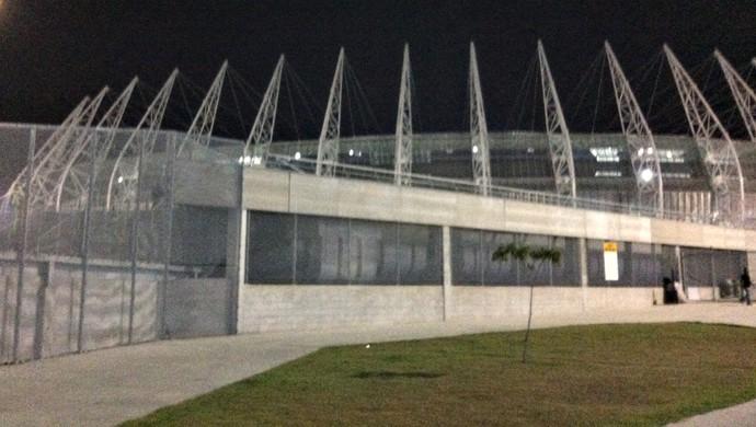 Arena Castelão Ceará x Internacional Copa do Brasil (Foto: João Marcelo Sena)