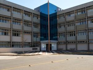 A sede do Ministério Público, em Campinas (Foto: Fernando Pacífico / G1 Campinas)