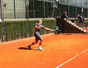Rafael Nadal treino ATP de Barcelona (Foto: Reprodução / Facebook)