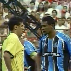 Zagueiro Pereira Grêmio Batalha dos Aflitos (Foto: Reprodução)