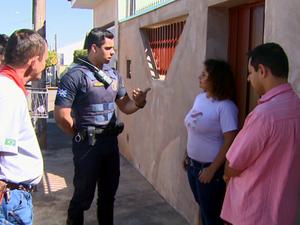 Flagrantes de desperdício são punidos com multa em Vargem Grande do Sul (Foto: Eder Ribeiro/EPTV)