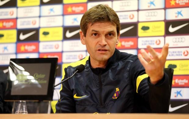 Tito Vilanova Barcelona (Foto: Reprodução / Site Oficial)