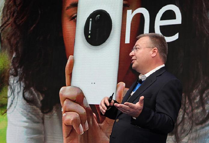Elop declarou o fim do uso da marca Nokia nos celulares (Foto: Divulgação/Nokia)