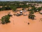 Sobe para 54 o número de cidades afetadas pela chuva no ES