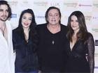 Família reunida: Fiuk publica foto em evento com pai e irmãs