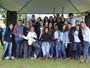 RPC na Praça Digital levou a Globeleza Erika Ramos e a cantora Carol Passos, do 'The Voice Kids', à CIC, em Curitiba