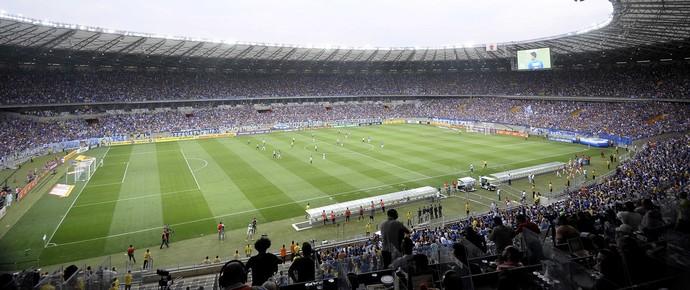 Mineirão recebeu o clássico entre Cruzeiro e Atlético-MG pelo segundo turno do Brasileirão (Foto: Gualter Naves/Light Press)