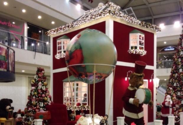 Buriti Shopping apresenta decoração de natal deste ano (Foto: Divulgação)