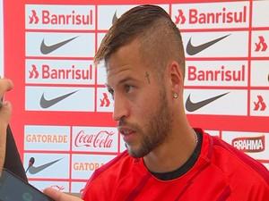 Nico López entrevista Inter (Foto: Reprodução / RBS TV)