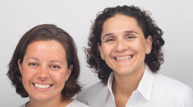 Fernanda Moura e Taciana Mello, empreendedoras do projeto The Girls On The Road (Foto: Aida Jones/Divulgação)