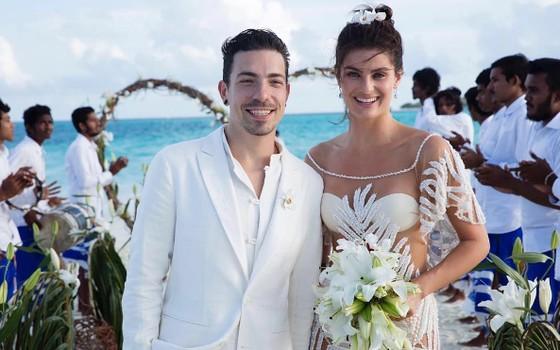 Di Ferrero e Isabeli Fontana se casaram nesta terça-feira (9), em um resort de luxo nas Maldivas (Foto: Reprodução Instagram)