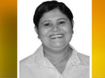 Prefeita de Ribeirão Cascalheira (MT) morreu em acidente em Goiás. (Foto: Reprodução/TVCA)