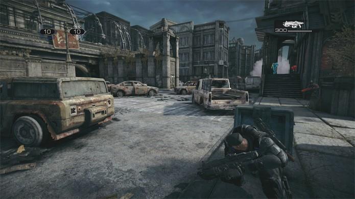 Gears of War: Ultimate Edition tem todos os mapas liberadas para os modos multiplayer (Foto: Reprodução/High-Def Digest)