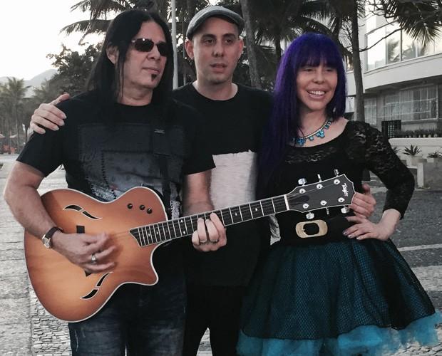 Família reunida no Rock in Rio (Foto: Carolina Caldas / Gshow)