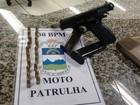Polícia detém suspeito com arma em Teresópolis, no RJ