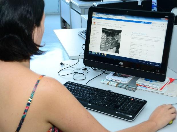Servidores municipais já podem acessar as Prateleiras Digitais (Foto: Emerson Ferraz)