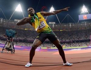Usain Bolt 200m Olimpíadas 2012 (Foto: Getty Images)