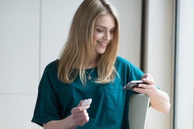 Pip mede índices de perspiração e se comunica com o smartphone do usuário (Foto: GALVANIC)