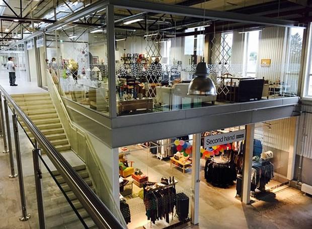 retuna-shopping-de-reciclaveis-suecia (Foto: Reprodução/ReTuna)
