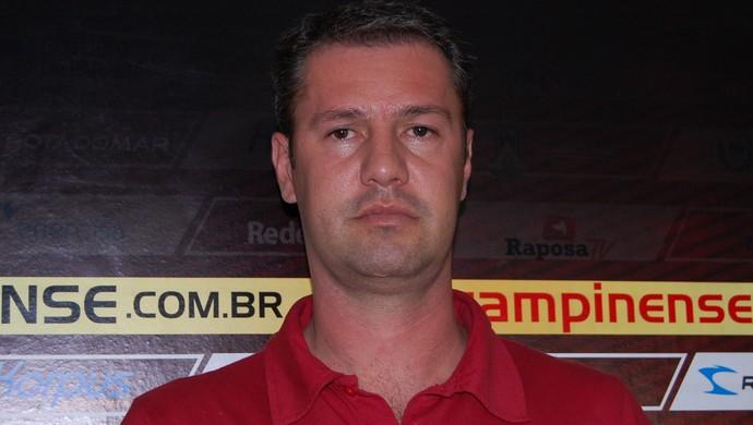 Kleber Romero, gerente de futebol do Campinense (Foto: Silas Batista / Globoesporte.com/pb)